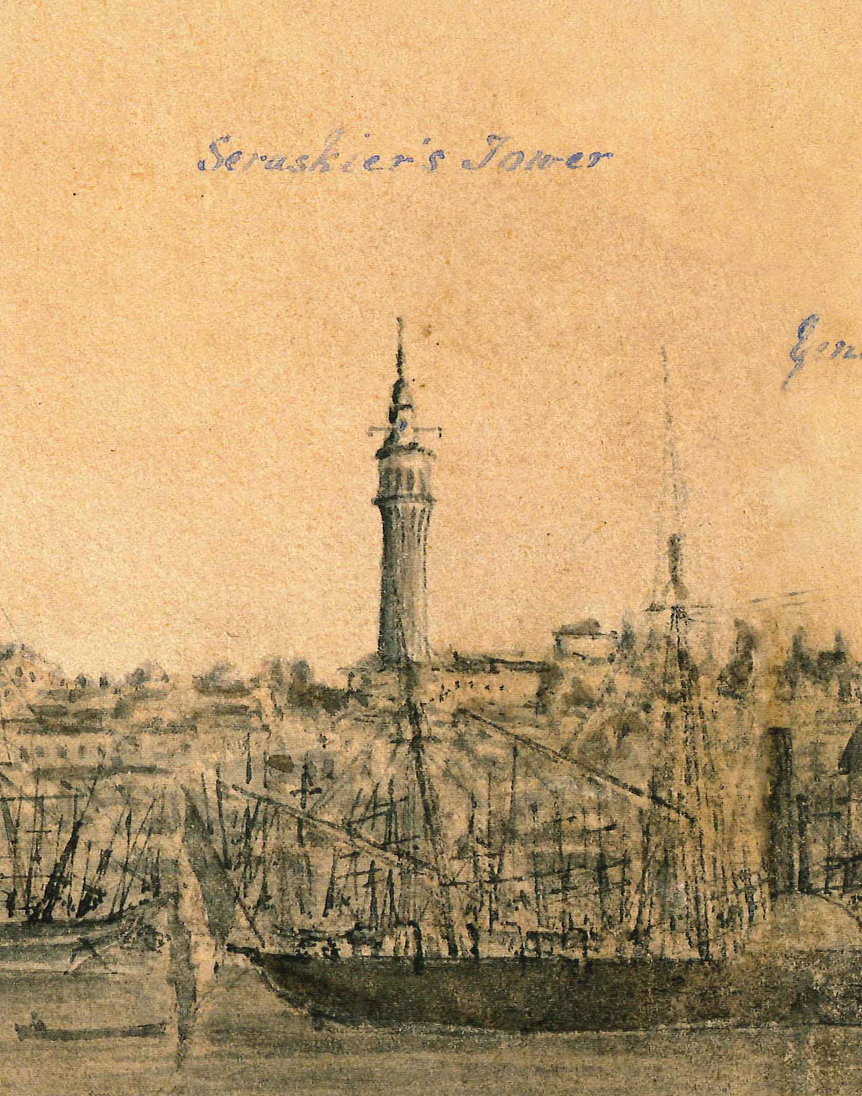 Montagu B. Dunn, Panorama of Istanbul, 1855