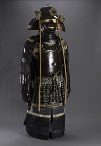 Ancient armor set presented to Sultan Abdulhamid II by Yamada Torajiro
