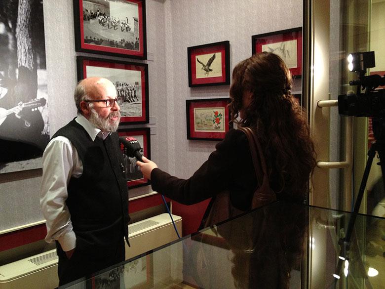 Following the conference curator Ekrem Işın discusses the exhibition.