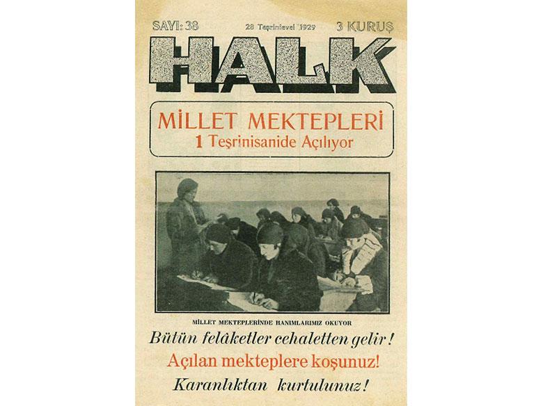 Halk Gazetesi, 1929. Turan Tanyer Arşivi.