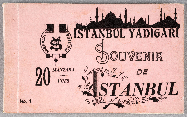 Souvenir de Constantinople.