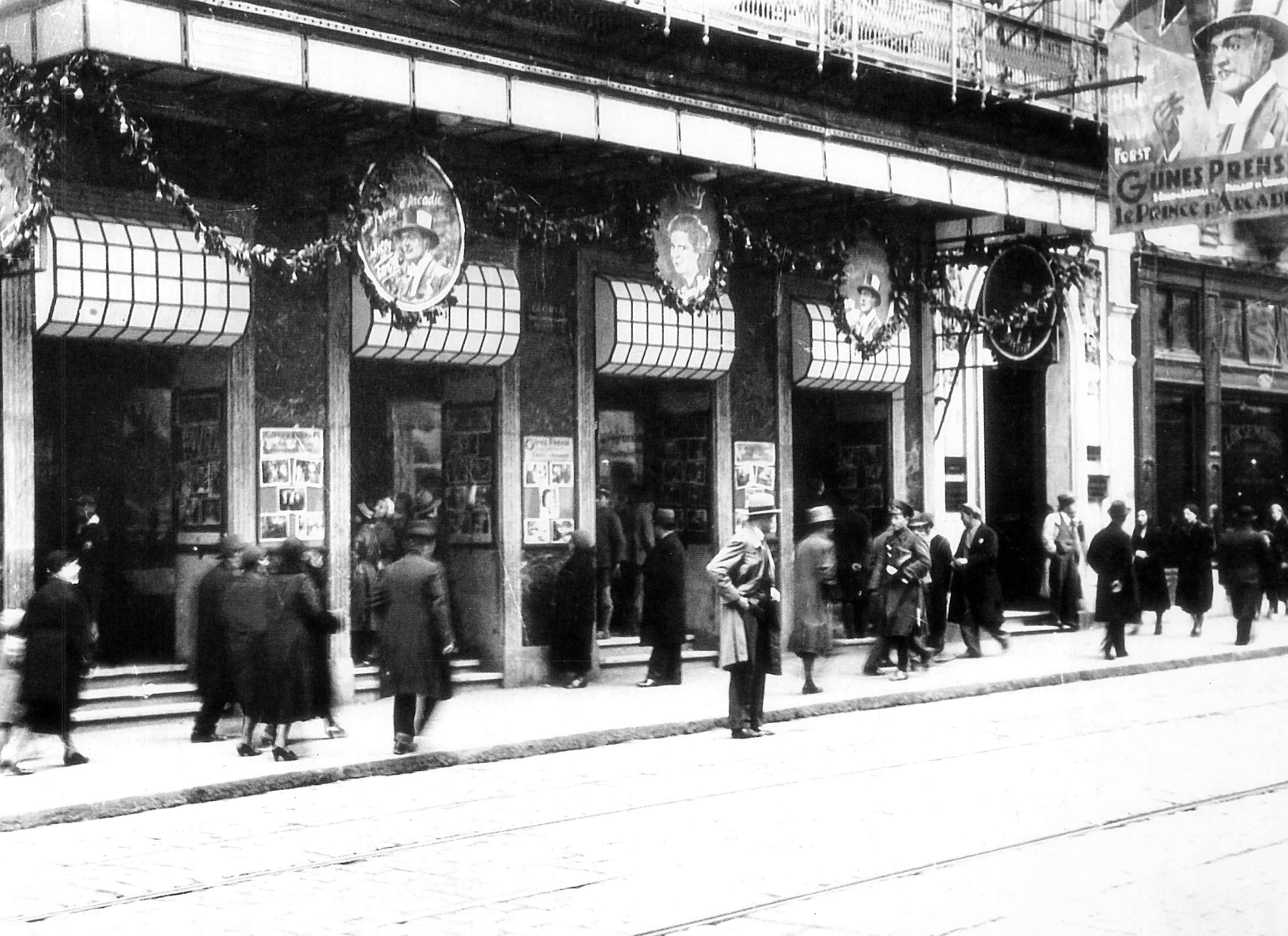 Historical Cinema to Shopping Centre