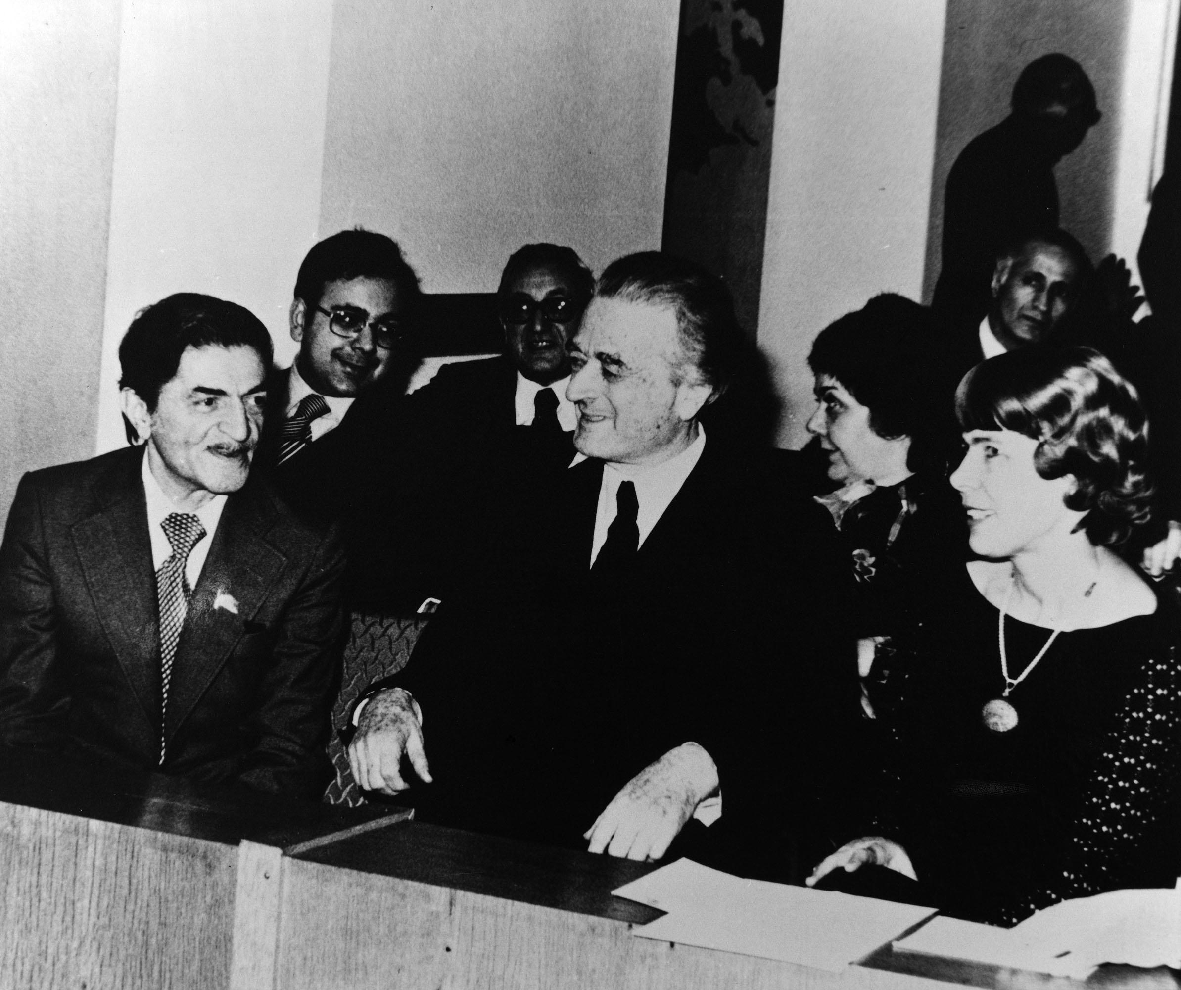 Adnan Saygun Azeri orkestra şefi Niyazi Takizade ile