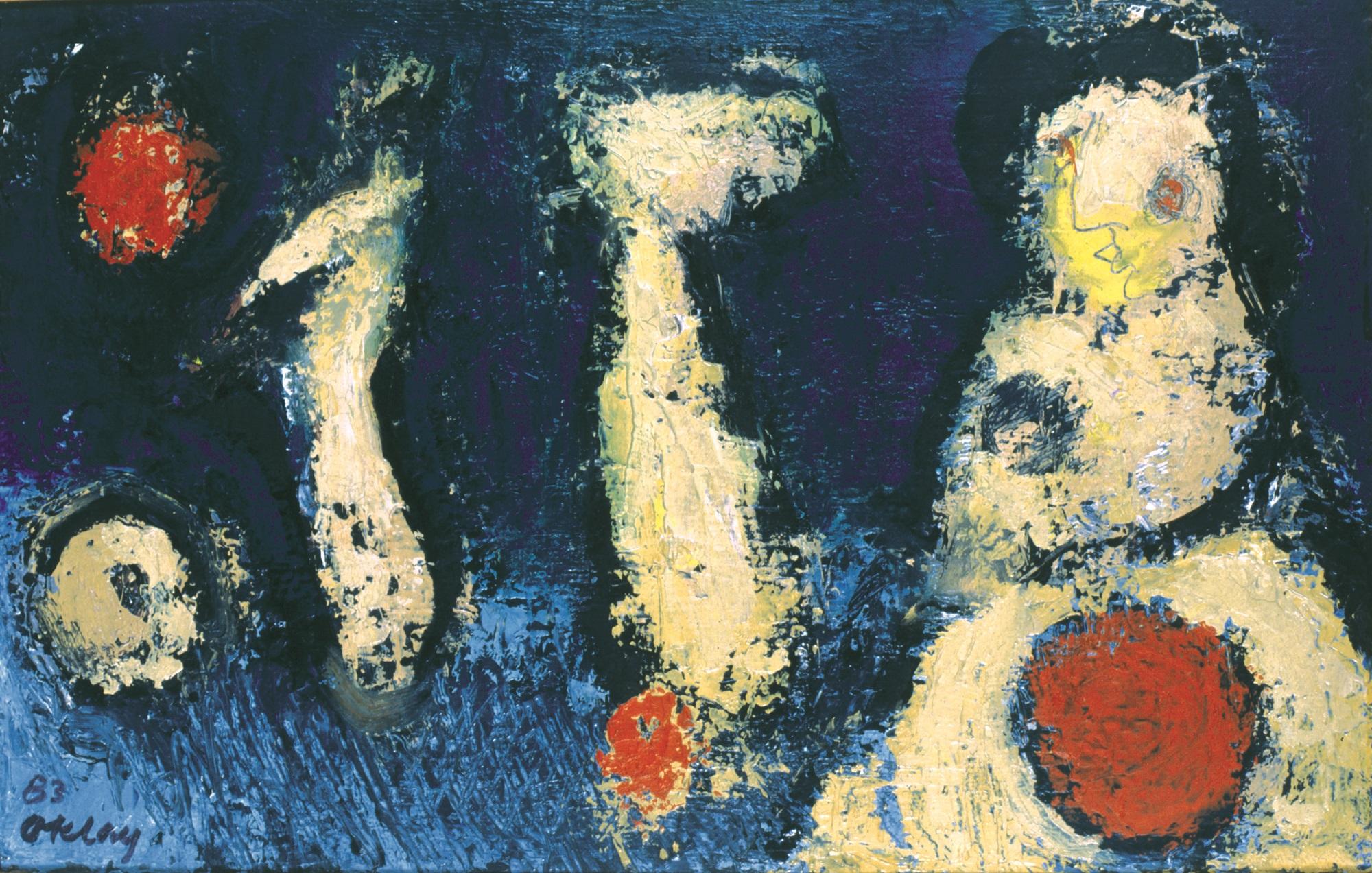 Oktay Rifat, İsimsiz, 1983.