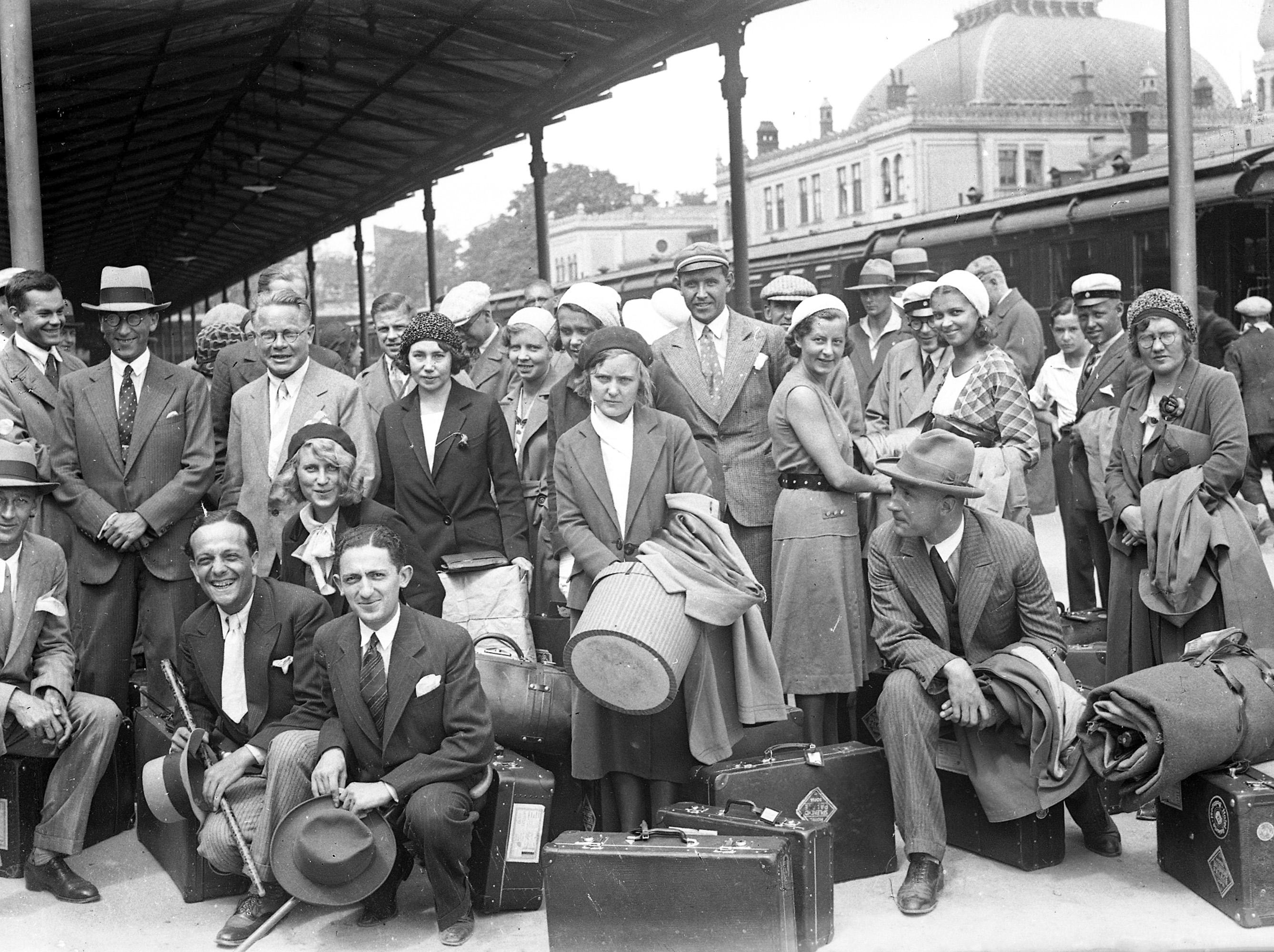 Passengers at Sirkeci Train Station