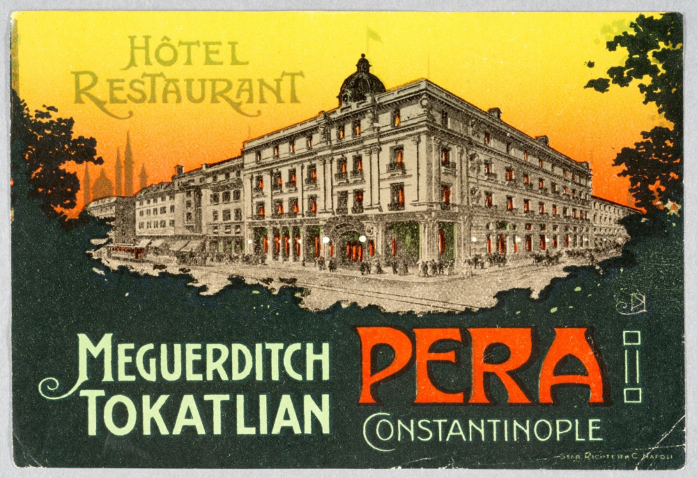 Small Advertisement for Tokatlıyan Hotels