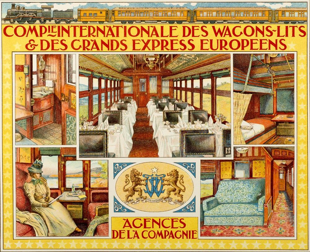 Yataklı Vagonlar ve Büyük Avrupa Ekspresleri Uluslararası Şirketi acentaları için ilan