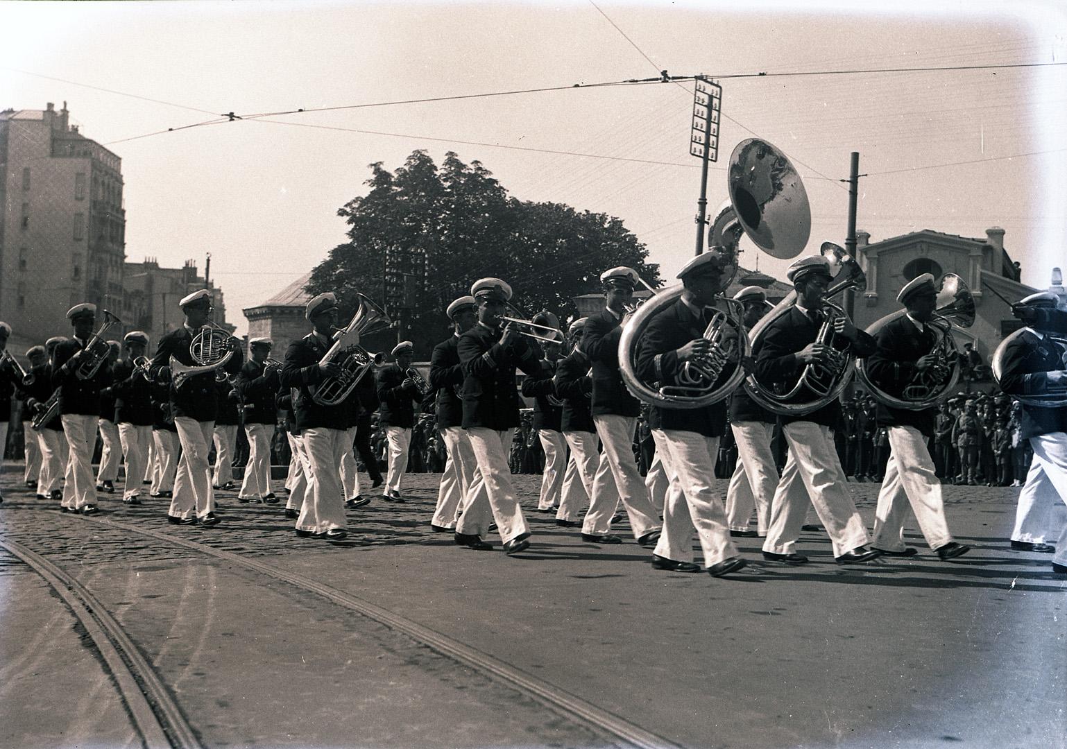 Naval band, Taksim Square,