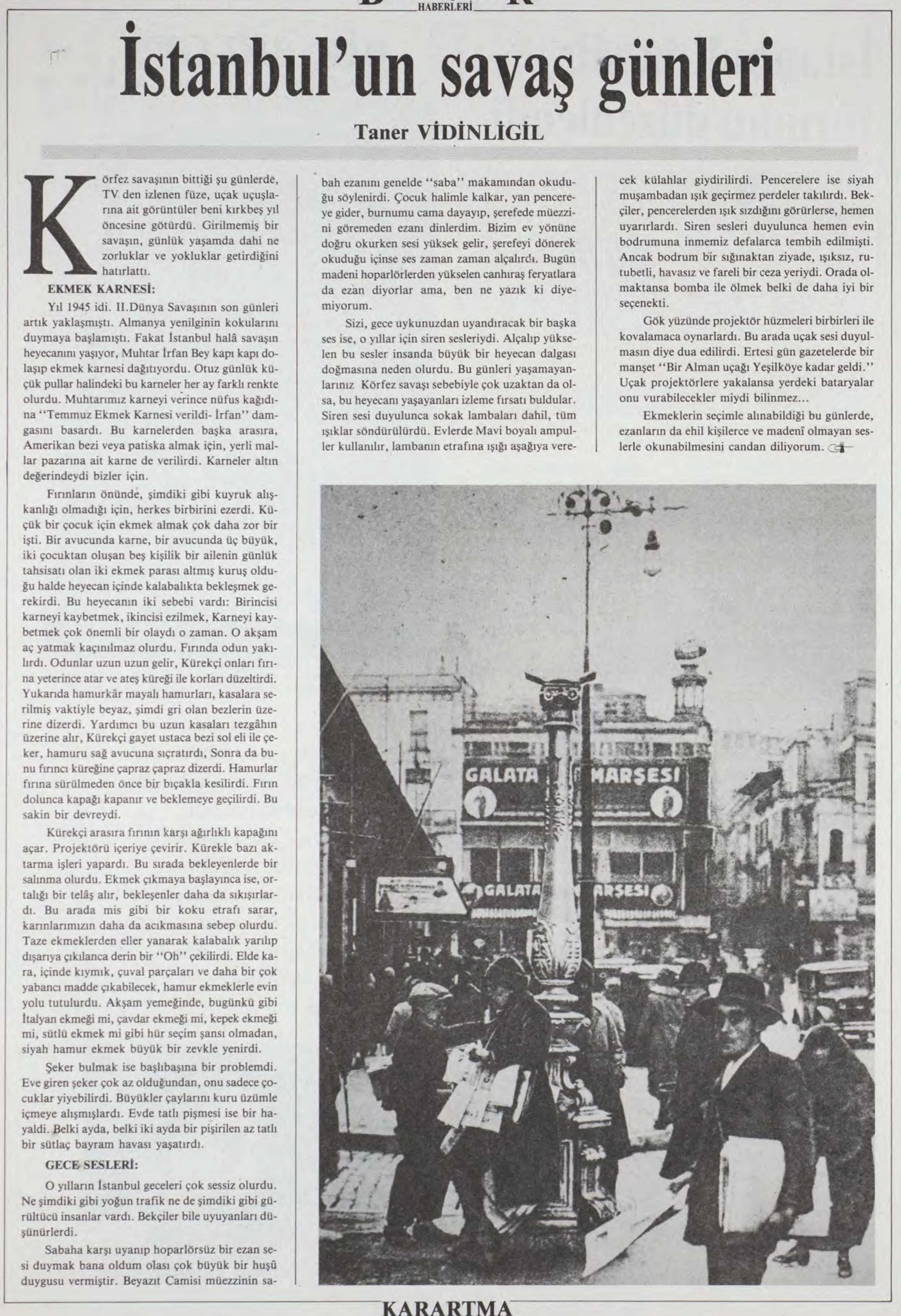 İstanbul'un Savaş Günleri