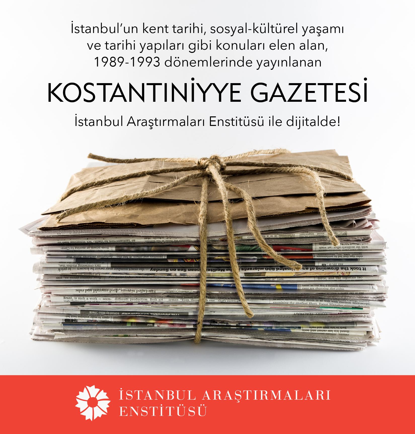 Kostantıniyye Gazetesi dijital olarak yayında!