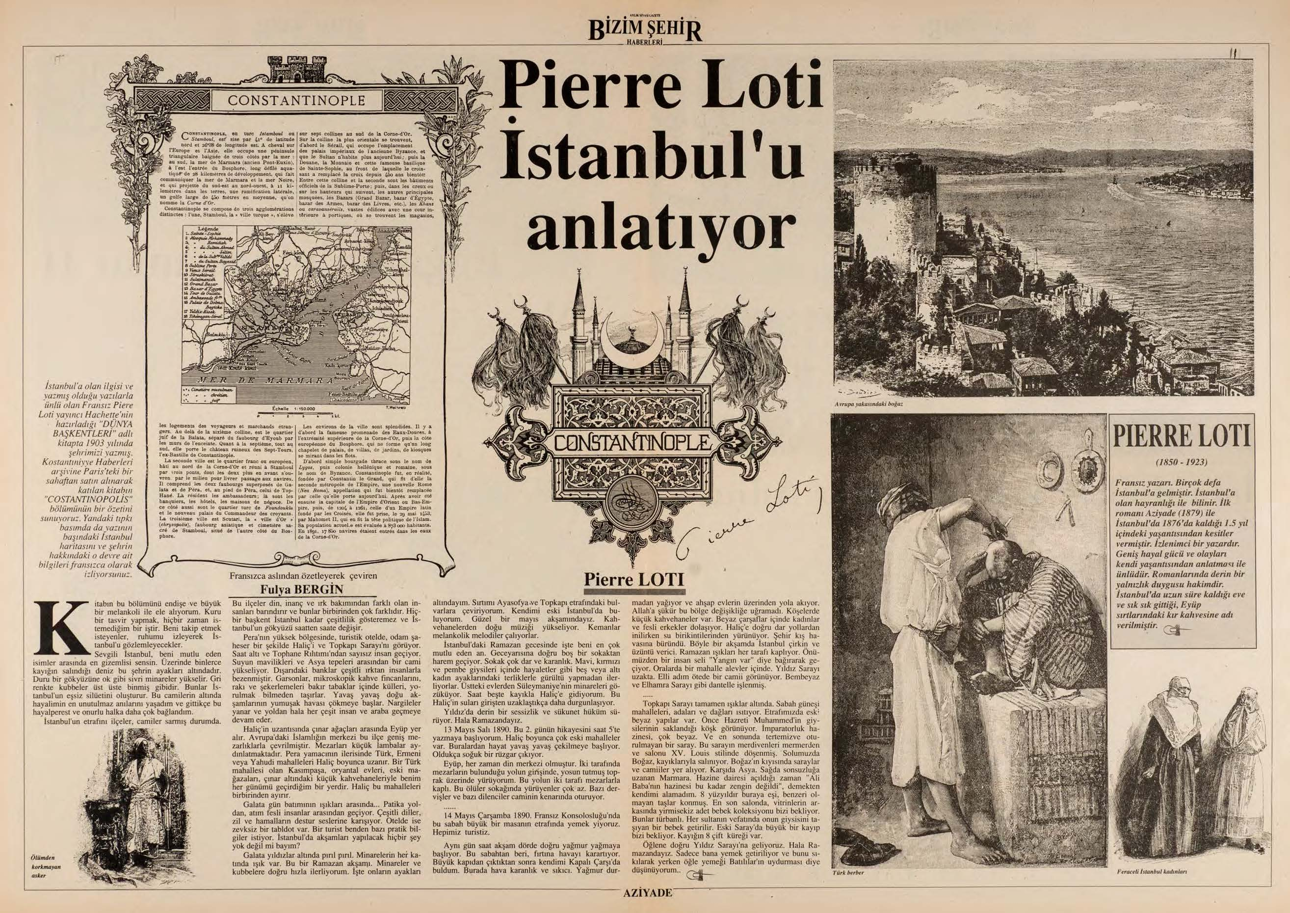 Pierre Loti İstanbul'u anlatıyor